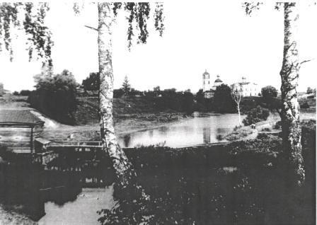 водяной мельницы Чебурова